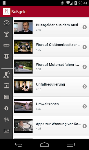 Bußgeld 2.6 screenshots 5