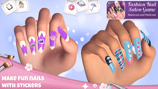 Fashion Nail Salon Game: Manicure and Pedicure App  Screenshots 5