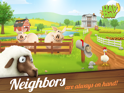 Hay Day Mod APK (Unlimited Coins, Gems, Seeds) 6