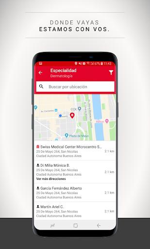 Swiss Medical Mobile Apkfinish screenshots 4