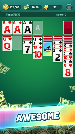 Solitaire Puzzle Game  - Big Prizes 1.0.7 screenshots 1