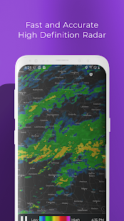 MyRadar Weather Radar Screenshot