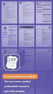 Professional Resume Builder – CV Resume Templates (MOD, Pro) v1.2 1