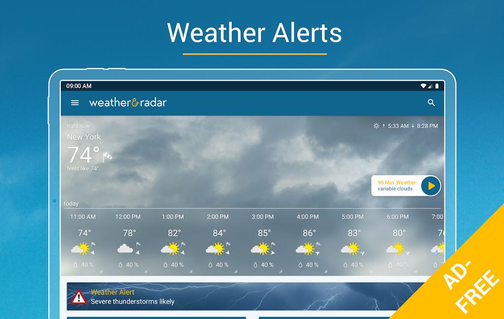 Weather & Radar USA - ad free poster 10