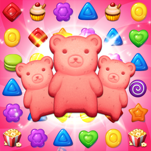 Sweet Candy POP: Match 3 Puzzle