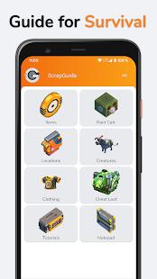 ScrapGuide - Guide for Scrap Mechanic