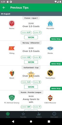 wonanza - sports betting tips by best tipsters! screenshot 2