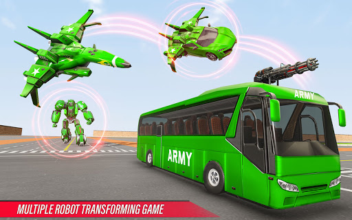 Army Bus Robot Car Game u2013 Transforming robot games 5.1 Screenshots 11