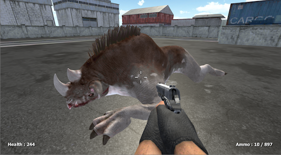 Zombie Evil Kill 3 MOD APK (FREEZE ENEMY/GOD MODE) 2