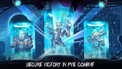 Clone Evolution: Cyber War-Borderlands Fantasy  screenshots 5