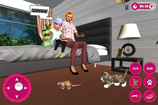 Virtual Kitten Family Pet Cat Adventure screenshots 3