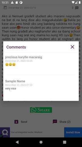 Tagalog Love Stories 2.1.6 Screenshots 10
