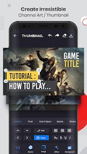 Ultimate Thumbnail Maker APK & Channel Art Maker 1