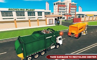 Garbage Truck Driving Simulator: Truck Driver Game