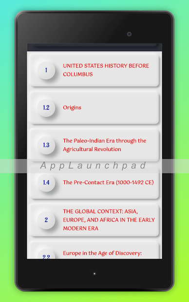 History Of United States: USA History screenshot 10