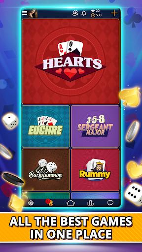 VIP Games: Hearts, Rummy, Yatzy, Dominoes, Crazy 8 3.7.2.84 screenshots 1