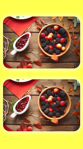 Find The Differences - Spot The Differences - Food 2.3.2 screenshots 2