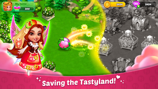 Tastyland Merge 2048 Mod Apk 1.16.0 (Free Shopping) 2