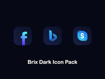 Brix Dark Icon Pack 8