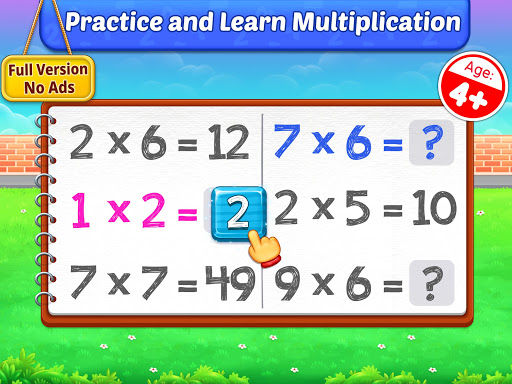Multiplication Kids - Math Multiplication Tables apkpoly screenshots 9
