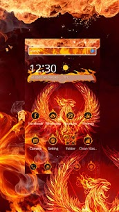 Mystery Fire Phenix HD Theme 1.1.10 Latest MOD Updated 3