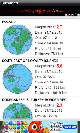 Terremoti ed alert  Screenshots 4