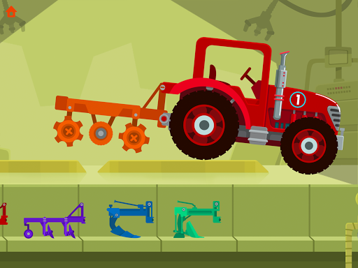 Dinosaur Farm - Tractor simulator games for kids screenshots 8