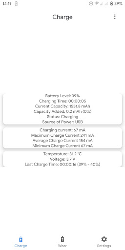 Capacity Info: Find out battery wear apktram screenshots 2