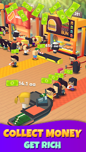 Idle Food Court Tycoon 1.0.8 Mod + Data (APK) Full 1