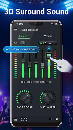 Equalizer -- Bass Booster & Volume EQ &Virtualizer 1.5.3 Screenshots 2