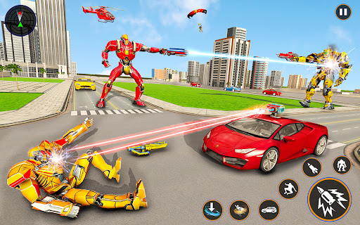 Helicopter Robot Car Game u2013 Bike Robot games 2021 Apkfinish screenshots 9