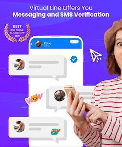 Second Line, Receive SMS Online, Temp Number, eSim 1.0