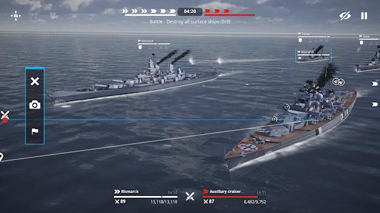 Warship Fleet Command : WW2 Naval War Game 2.01803 Screenshots 15