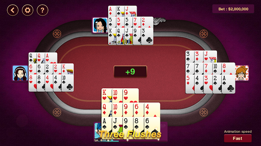 Chinese Poker Offline 1.0.6 screenshots 8