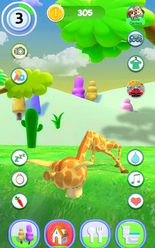 Talking Giraffe 1.54 screenshots 9