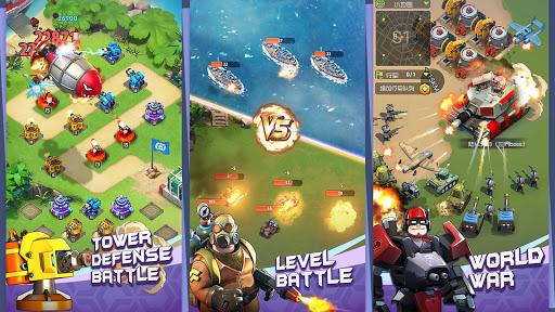 Top Defense:Merge Wars 1.0.15 screenshots 6