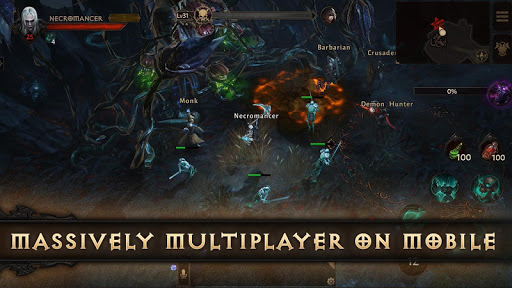 Diablo Immortal Varies with device screenshots 5