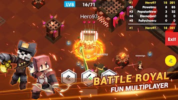 Heroes.io - Multiplayer Battle Royale Arena