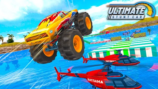 Ultimate Car Stunts: Car Games MOD APK (Unlimited Money) 3
