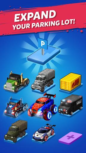 Merge Truck: Monster Truck Evolution Merger game Apkfinish screenshots 8