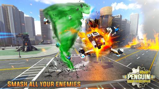 Penguin Robot Car Game: Robot Transforming Games 5 Screenshots 15
