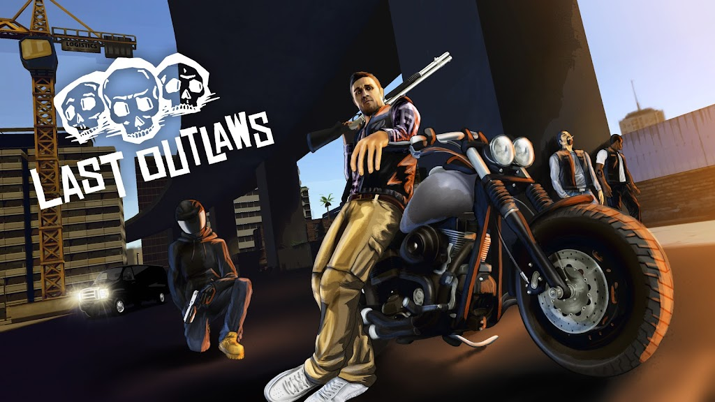 Last Outlaws: The Outlaw Biker Strategy Game poster 1