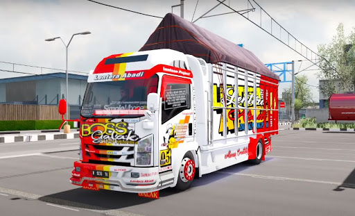 Truck Simulator Indonesia : Livery Bussid apklade screenshots 2