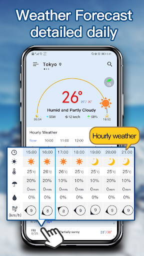 Weather Forecast - local weather app 2.2 Screenshots 1