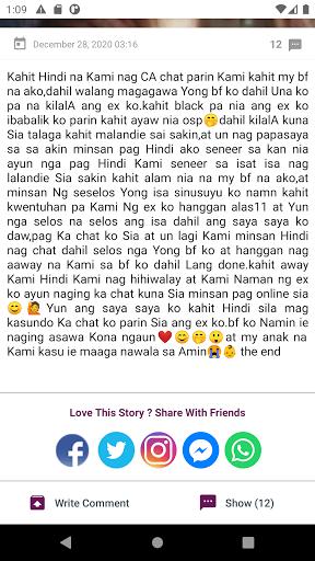 Tagalog Love Stories 2.1.6 Screenshots 9