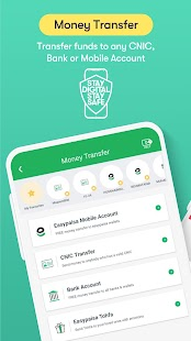 Easypaisa - Mobile Load, Send Money & Pay Bills Screenshot