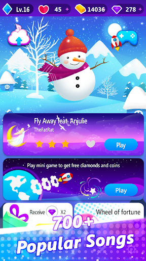 Magic Piano Pink Tiles - Music Game  screenshots 12