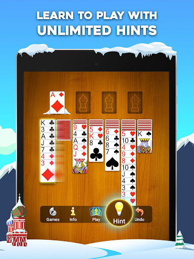Yukon Russian u2013 Classic Solitaire Challenge Game 1.3.0.291 screenshots 8