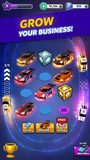 Merge Cyber Cars: Sci-fi Punk Future Merger  screenshots 11