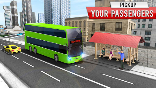 City Coach Bus Simulator 2021 - PvP Free Bus Games  screenshots 14